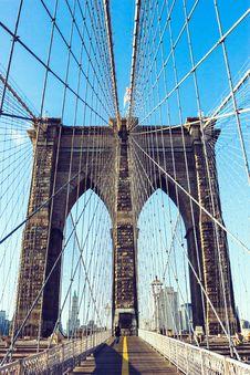 Free Brooklyn Bridge Stock Image - 84960371