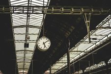 Free Railway Station Roof Stock Images - 84960694