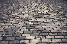 Free Grey Bricked Flooring Royalty Free Stock Photography - 84961477