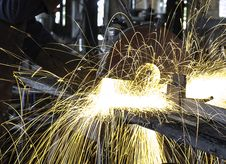 Free Sparks In Workshop Stock Photos - 84961523