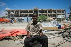 Free On Foot Patrol In Mogadishu With An AMISOM Formed Police Unit 12 Royalty Free Stock Images - 84963519