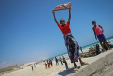 Free On Foot Patrol In Mogadishu With An AMISOM Formed Police Unit 16 Royalty Free Stock Photo - 84963525