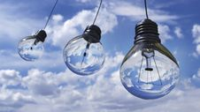 Free Light Bulbs Stock Photography - 84964232