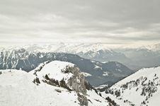 Free Snowy Mountainous Landscape Stock Image - 84965051