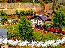 Free Miniature Model Railway Stock Photos - 84965963