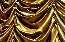 Free Gold Swag Curtain Royalty Free Stock Photo - 84966665