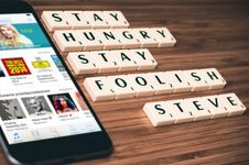 Free Stay Hungry Stay Foolish Stock Photo - 84967340