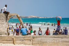 Free On Foot Patrol In Mogadishu With An AMISOM Formed Police Unit 18 Royalty Free Stock Photography - 84968187