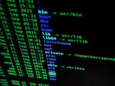 Free Unix File System Royalty Free Stock Photos - 84969018
