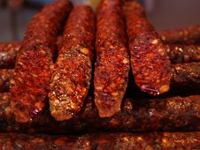 Free Grilled Sausages Stock Photography - 84969332