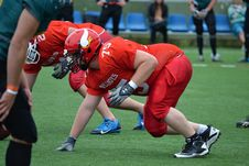Free American Football Players On Field Stock Photos - 84969363
