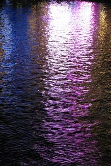 Free Lights In Water, Las Vegas 12 Stock Images - 84979614