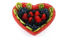 Free Heart Of Fruits Royalty Free Stock Image - 84980536