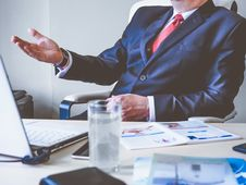 Free Businessman In Meeting Stock Images - 84994494