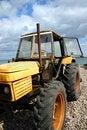Free Beach Tractor Royalty Free Stock Photos - 854118