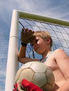 Free Football - Waiting To Play Stock Photography - 857602