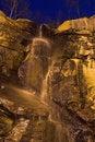 Free Waterfall At Night Stock Photo - 859120