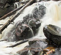 Free Flowing River Detail Stock Photography - 859152