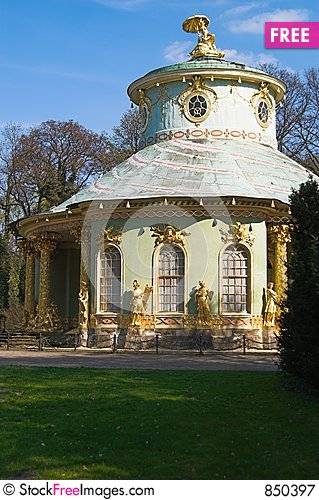 Free Chinese House In Sanssouci Par Royalty Free Stock Photography - 850397