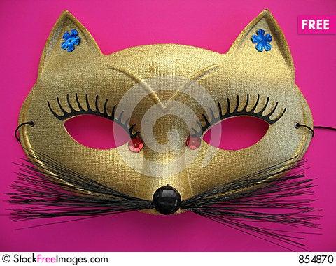 Cat Mask 1 Stock Photo