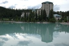 Chateau Lake Louise Stock Images