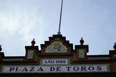 Free Plaza De Toros Royalty Free Stock Images - 851529