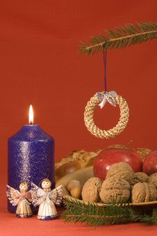 Free Christmas Still Life Royalty Free Stock Photography - 852017