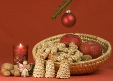 Free Christmas Still Life Royalty Free Stock Photo - 852055