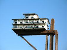 Free Bird House Stock Photo - 852060