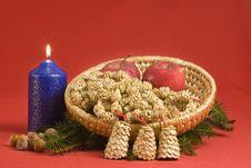 Free Christmas Still Life Stock Image - 852061