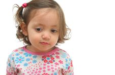 Free Little Girl With A Beautiful Expression Royalty Free Stock Images - 852189