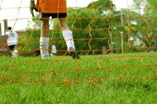 Free Goalkeeper Stock Photography - 852282