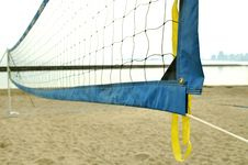 Free Volleyball Net Royalty Free Stock Photo - 852615