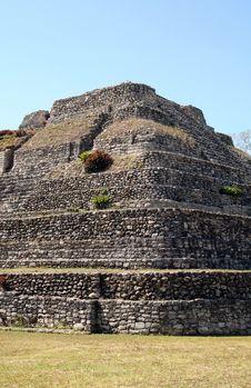 Mayan Ruin Royalty Free Stock Photo