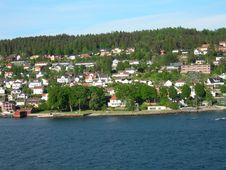 Free Drøbak In The Oslo-fjord Stock Photography - 854152