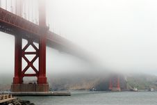 Free Golden Gate Royalty Free Stock Photos - 854658