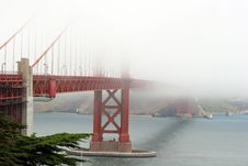 Free Golden Gate Royalty Free Stock Photos - 854668