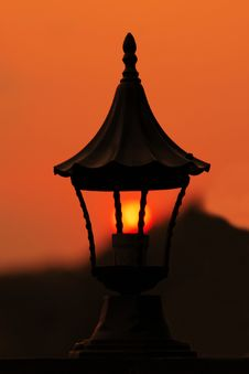 Free Street Lamp Royalty Free Stock Photography - 855627