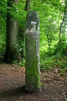 Free Stone Border Marker Stock Images - 855724