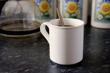 Free White Mug 2 Royalty Free Stock Images - 855899