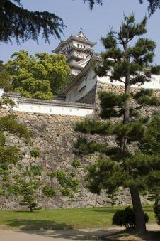Free Himeji Castle Royalty Free Stock Image - 856036