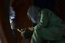 Free Welder Light Royalty Free Stock Images - 856099
