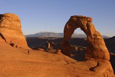 Free Delicate Arch Stock Photo - 857910