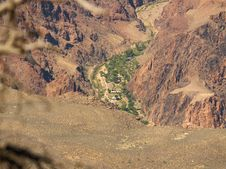 Free Grand Canyon - Phantom Ranch Stock Photography - 858852