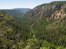 Oak Creek Canyon II Royalty Free Stock Images