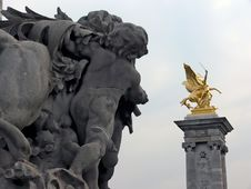 Free Pont Alexandre III Royalty Free Stock Images - 859299