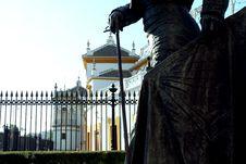 Plaza De Toros - Bull Ring In Seville Stock Photography