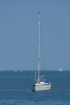 Free Sailboat Stock Photography - 859842