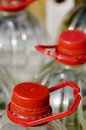 Free Water Bottle With Red Cap Stock Images - 8500414