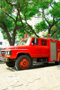 Free Fire Truck Royalty Free Stock Images - 8501519